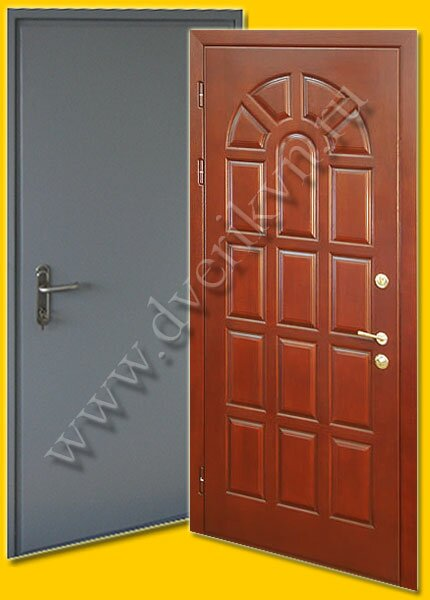 двери металлические с повышенной шумоизоляцией двербург