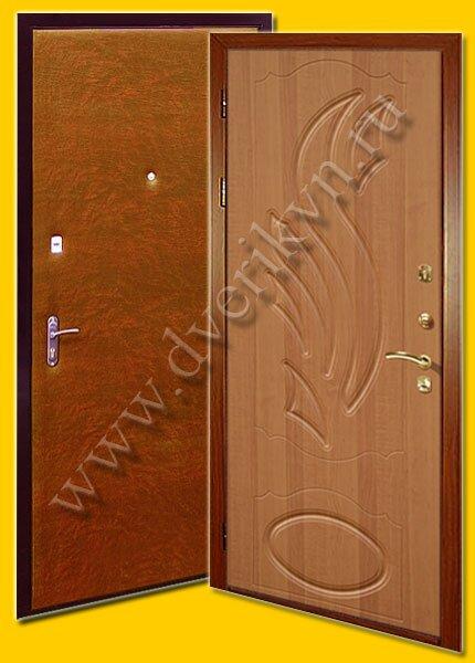 дачные металлические двери эконом класса