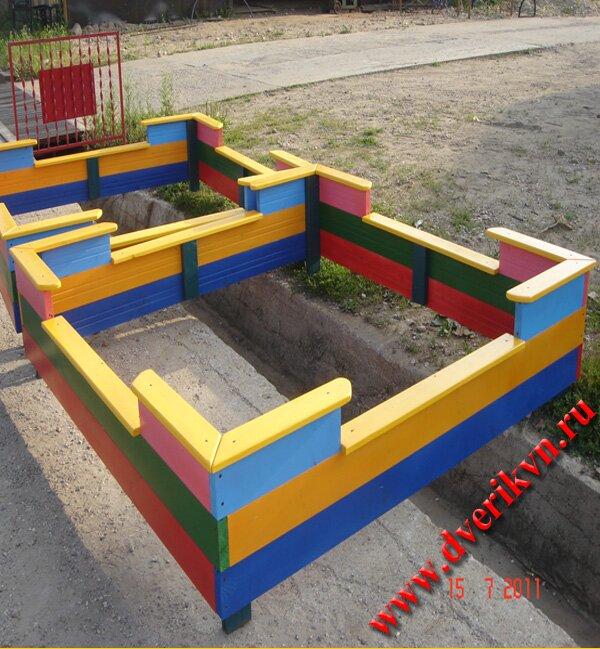 Детская песочница проекты