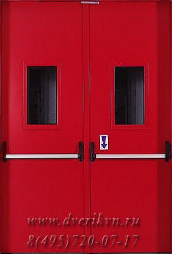 двери металлические огнестойкие входные