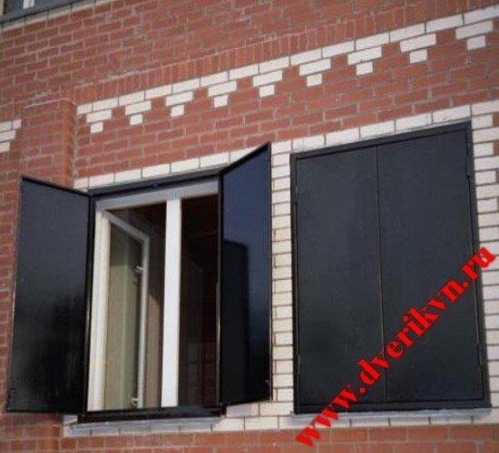 металлические двери и ставни на окна в подмосковье
